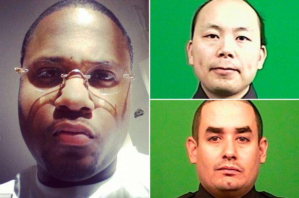 2-shot-new-york-police-Ismail-Brinsley