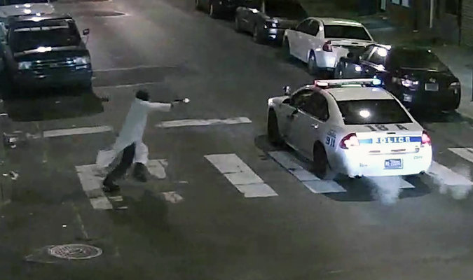 ISIS backer shooting Philly cop