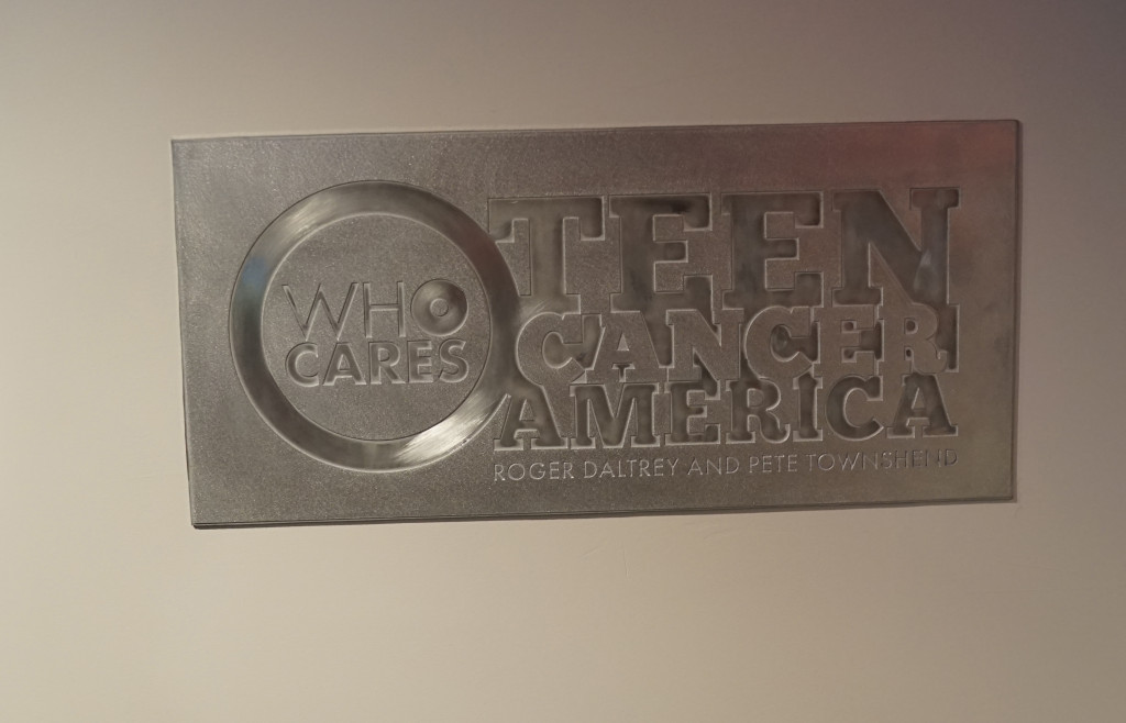 Teen Cancer plaque