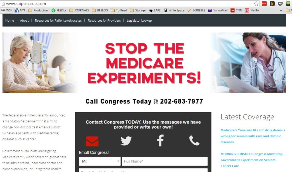 Stop CMS Cuts !